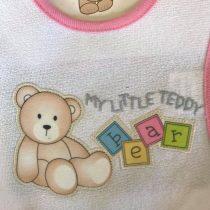 Σαλιάρα με velcro Teddy