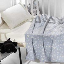Kουβέρτα κούνιας astro γαλάζια
