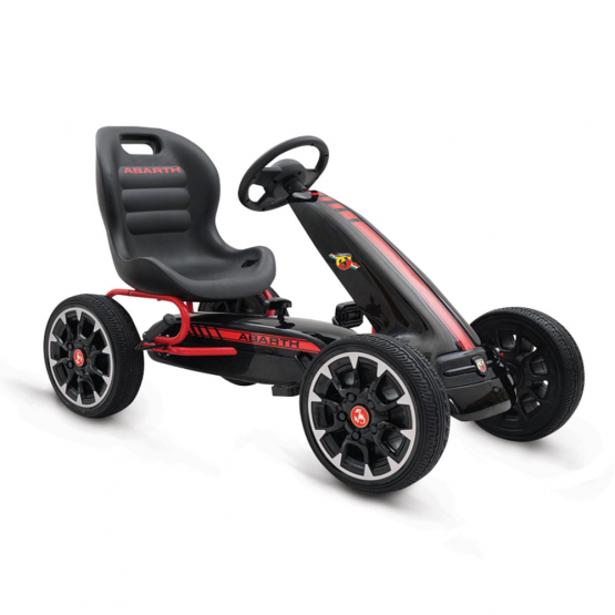 Αυτοκίνητο με πετάλια Abarth 500 go cart