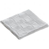 Κουβέρτα pekebaby chic Tricot γκρί