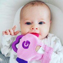 Γάντι Οδοντοφυίας Gummee Glove pink