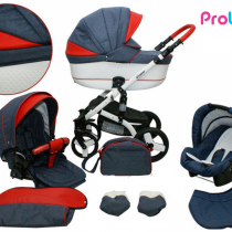Kαρότσι Probaby Cruiser 3 in 1 denim/red