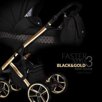 Kαρότσι Faster style Trio  Limited edition Black Gold