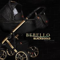 Καρότσι Bebello 3 in 1  black/gold