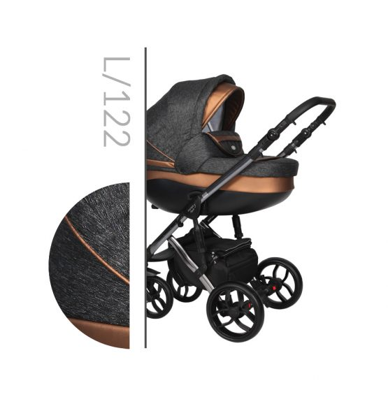 Kαρότσι Faster style Trio Limited edition Black bronze