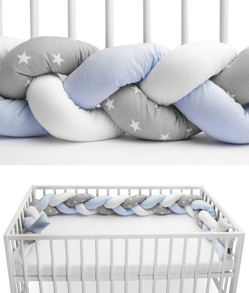 Προστατευτικό μαξιλάρι/πάντα πλεξούδα sensillo 210cm