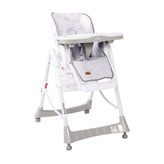 Καρέκλα φαγητού Gusto rabit grey1