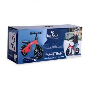 Ποδηλατάκι ισορροπίας Spider black1